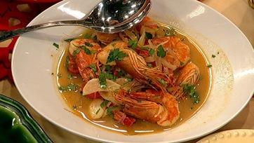 Mario Batali\'s Shrimp in Acqua Pazzo