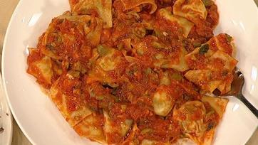 Orata Ravioli with Marjoram and Potato
