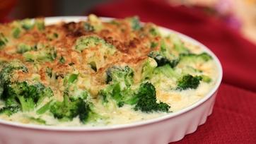 Carla Hall\'s Broccoli Gratin