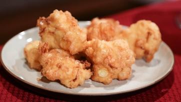 Mario\'s Cauliflower Fritters