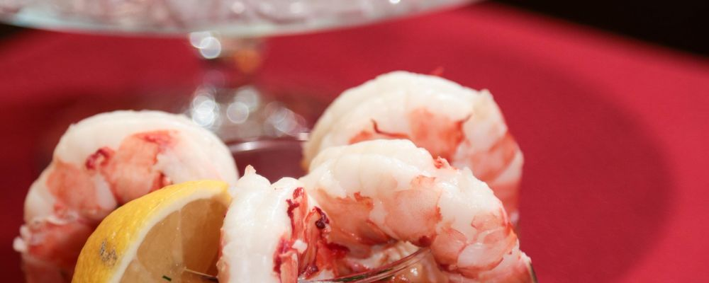 Michael\'s Poached Jumbo Shrimp