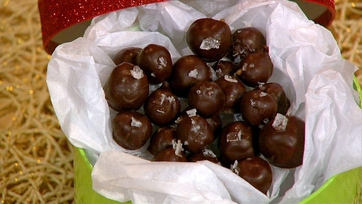 Carla Hall\'s Butterscotch Truffles