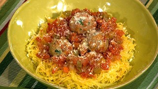 "Helen Cavallo\'s ""Spaghetti"" and Meatballs"