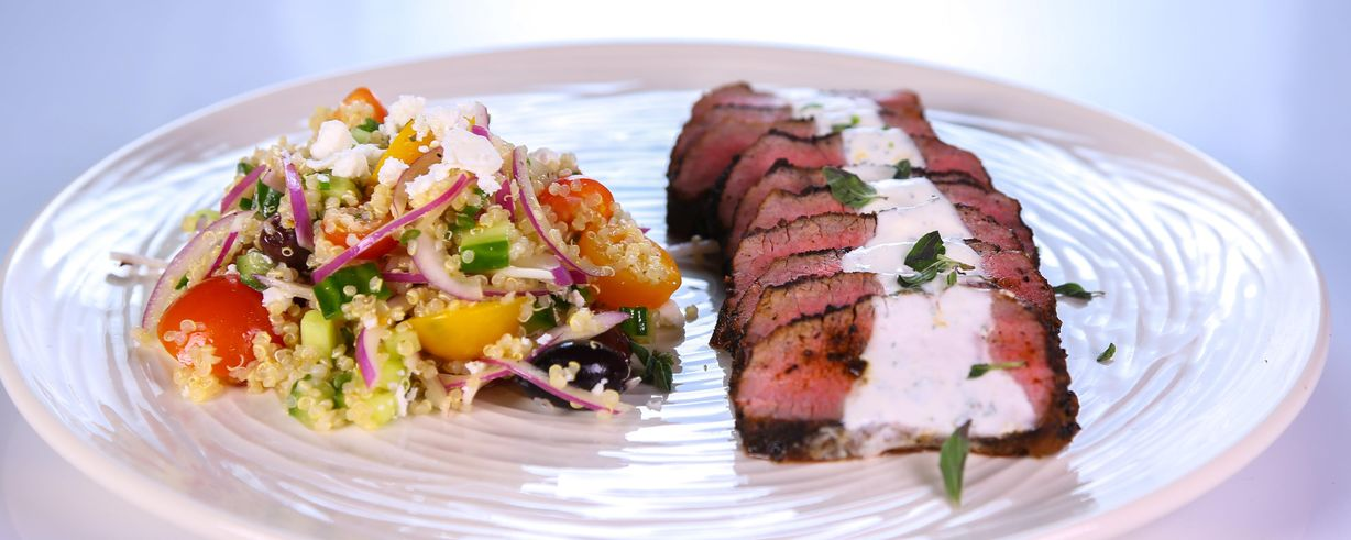 greek yogurt sauce lamb