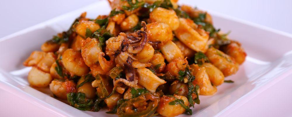 Gnocchi and 2-Minute Calamari