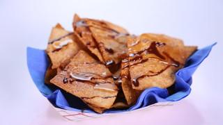 Carla Hall\'s Chocolate-Caramel Nachos
