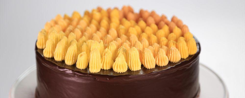 Chocolate Ganache Glaze Recipe by Martha Stewart - The Chew