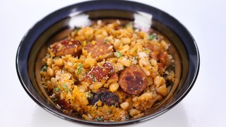 Michael Symon\'s Kielbasa and Beans