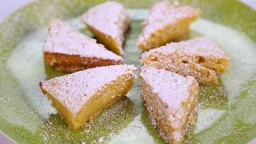 Reduced Guilt Triple Lemon Bars