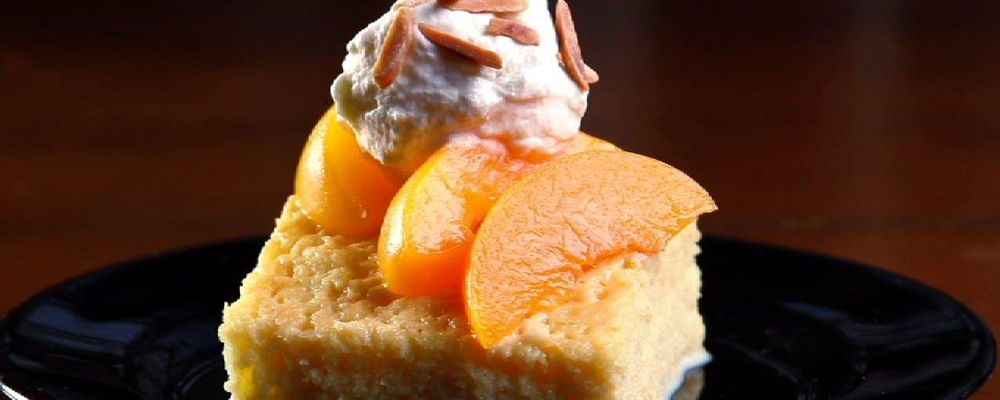 Carla Hall\'s Pantry Peach Cake