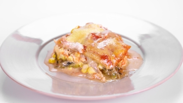 Chicken Casserole with Chiles, Corn and Cheese