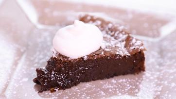 Carla Hall\'s Flourless Hazelnut Chocolate Cake