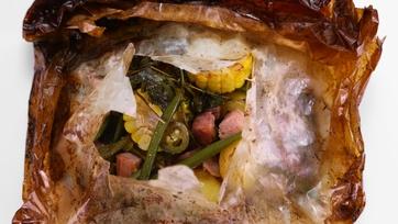 Mario Batali\'s Summer Vegetables in Cartoccio