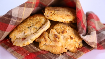 Cheddar, Jalapeno and Bacon Biscuits