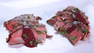 Michael Symon\'s Seared Porterhouse Steaks