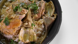 Clinton Kelly\'s Chicken and Artichoke Tagine