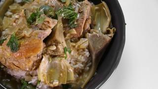 Clinton Kelly\'s Chicken and Artichoke Tagine