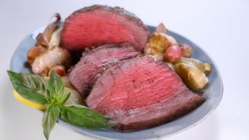 Carla Hall\'s Lemon Herb Crusted Roast Beef