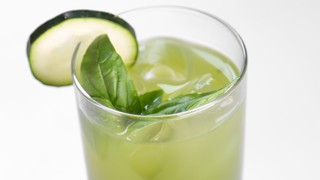 Clinton Kelly\'s Cucumber Basil Refresher