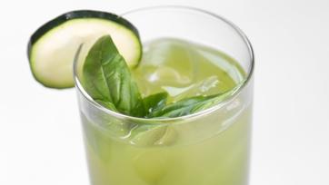 Clinton Kelly\'s Cucumber Basil Refresher