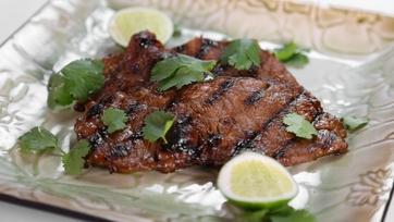 Michael Symon\'s Grilled Korean Style Strip Steak