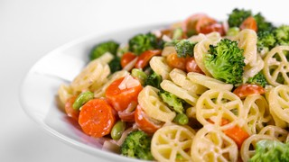 Jamie Deen\'s Loaded Veggie Pasta Salad