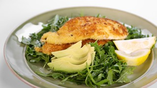 Jamie Deen\'s Parmesan Chicken Cutlets