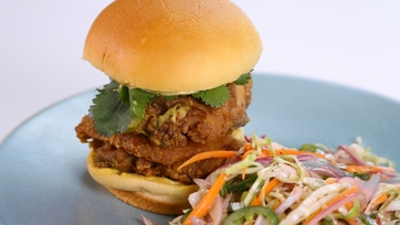 Hot Fried Chicken Sandwich