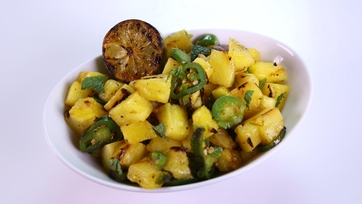 Michael Symon\'s Grilled Pineapple Salad