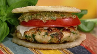 Arepa Chicken Sliders