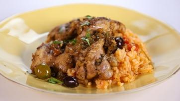 Marcela Valladolid\'s Baja Style Braised Chicken Thighs