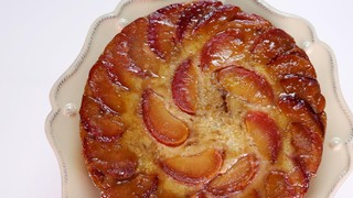Carla Hall\'s Plum Upside-Down Cake