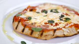 Daphne Oz\'s Grilled Pizza on Pita Bread