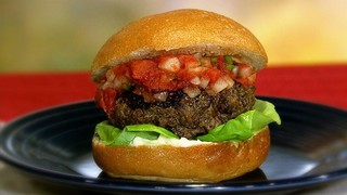 Hellmann\'s Juicy Salsa Burger
