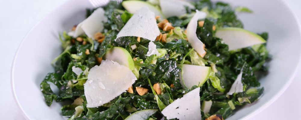 Brussels Sprout and Kale Slaw