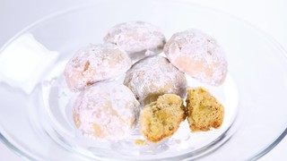 Carla Hall\'s Lemon Cardamom Wedding Cookies