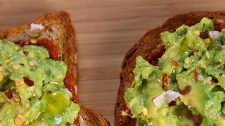 Avocado Toast with Harissa Paste