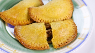 Dominique Williams-Blair\'s Jamaican Chicken Stuffed Pastries
