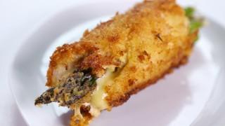 Ken Gillmer\'s Panko Encrusted Chicken Rollatini