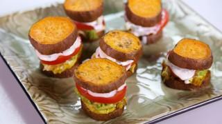 Jessica Chironna\'s Grilled Chicken Sweet Potato Sliders