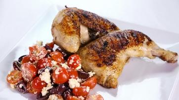 Michael Symon\'s Greek Style Grilled Chicken