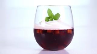 Carla Hall\'s Stone Fruit Sangria Gelatin