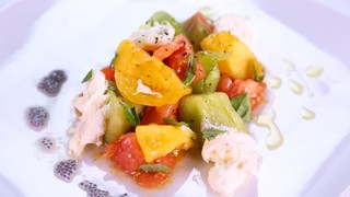 Geoffrey Zakarian\'s Heirloom Tomatoes with Stracciatella
