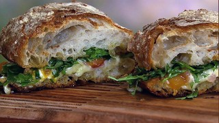 Curtis Stone\'s Outdoor Grilled Cheese Sandwich