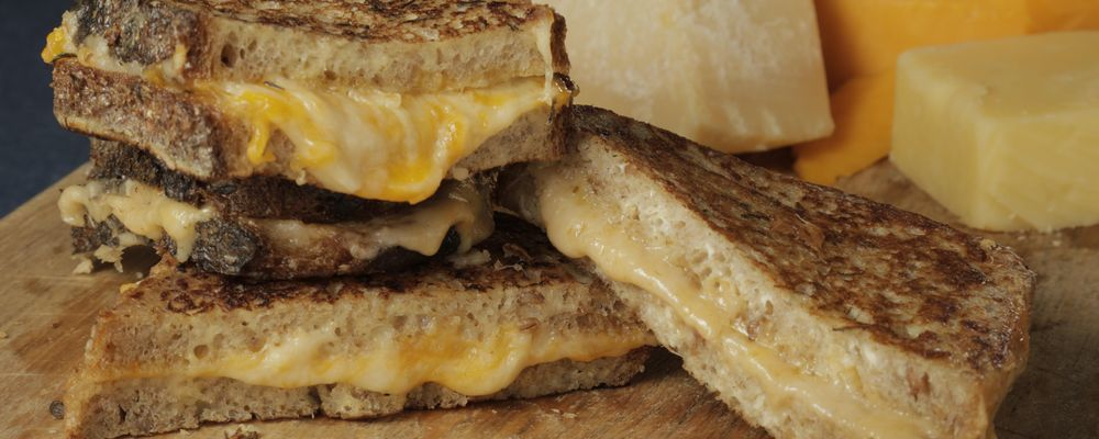 Mario\'s Makeover: Fancy Grilled Cheese Sandwiches