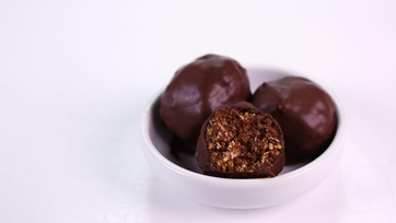 Cooking Light\'s Coconut Date Truffle Bites