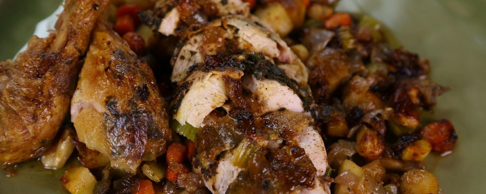 Clinton Kelly\'s Fall Roasted Chicken