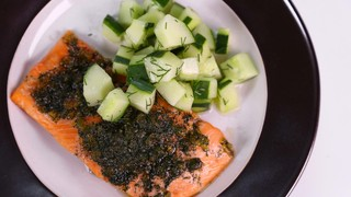 Tyler Gage\'s Candied Lemon and Dill Salmon