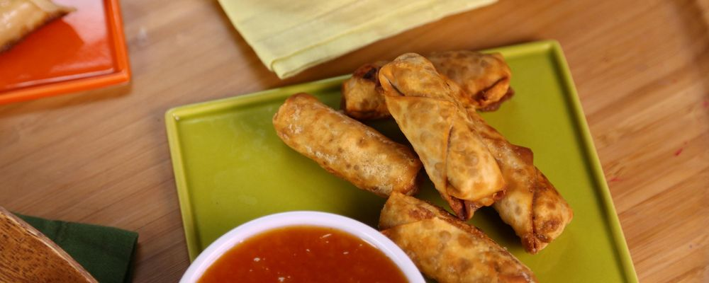 Clinton Kelly\'s Mini Egg Rolls