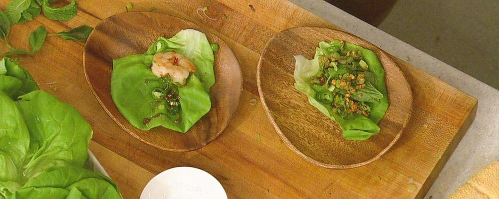 Mario Batali\'s Vietnamese Shrimp Cups